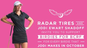 LPGA Golfer Jodi Ewart Shadoff Partners with Play for P.I.N.K.